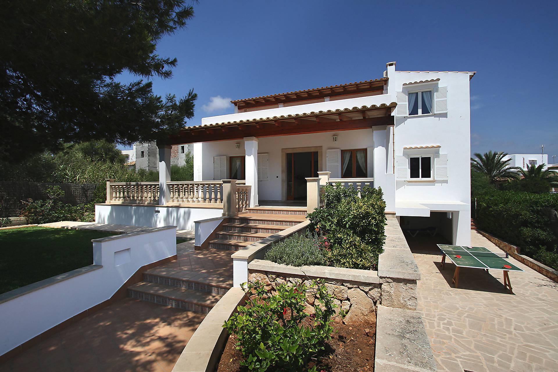 01-128 Rustikales Ferienhaus Mallorca Osten Bild 1