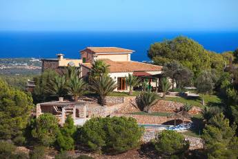 01-165 Finca Mallorca east with Sea Views