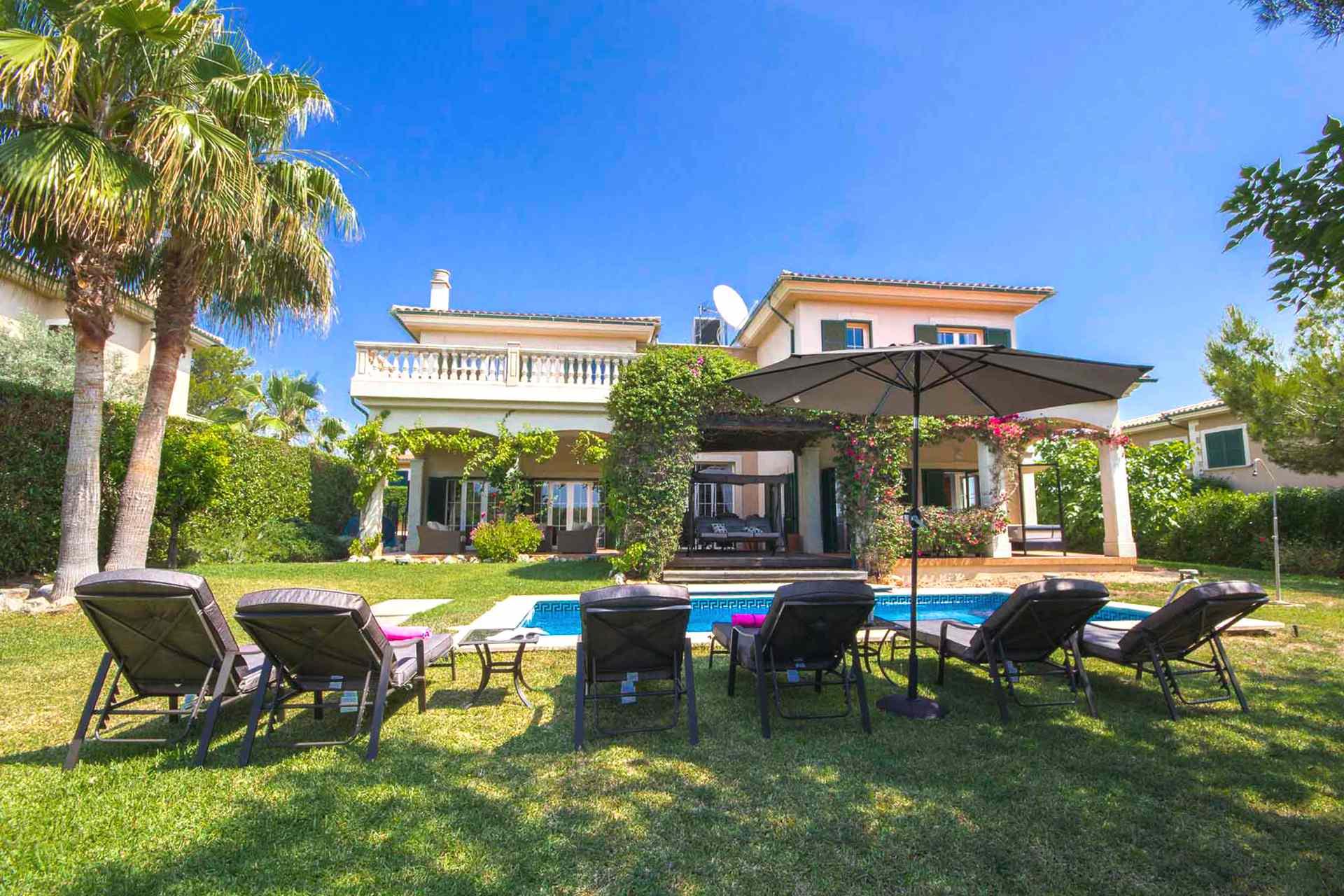 01-302 hübsches Ferienhaus Mallorca Südwesten Bild 1