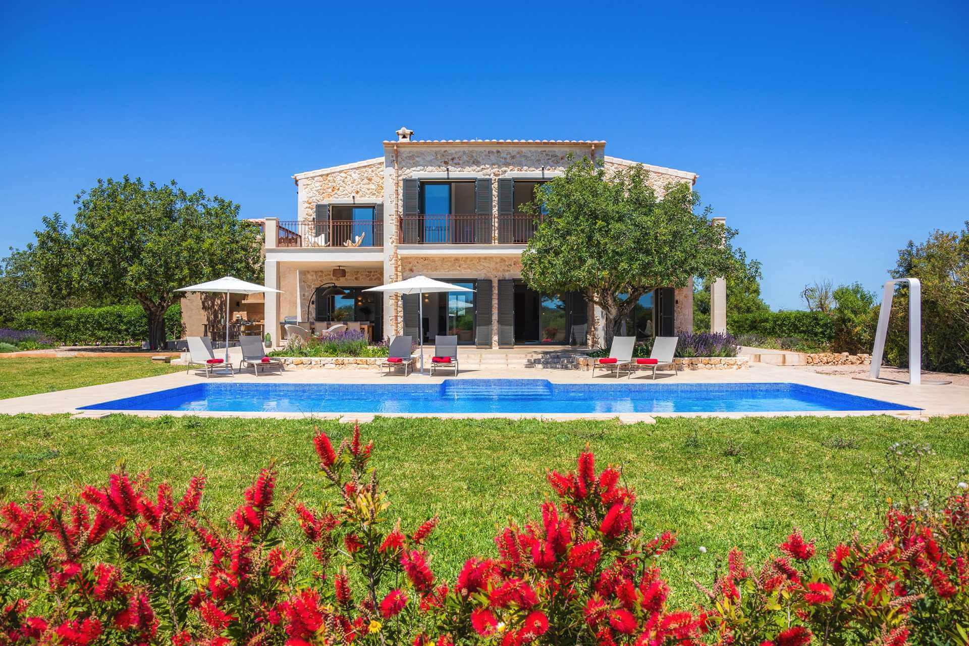 01-340 luxuriöse Finca Mallorca Osten Bild 1