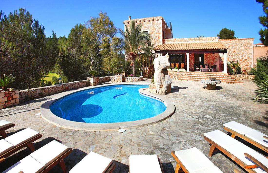 01-138 wintertaugliche Finca  Mallorca Osten Bild 1
