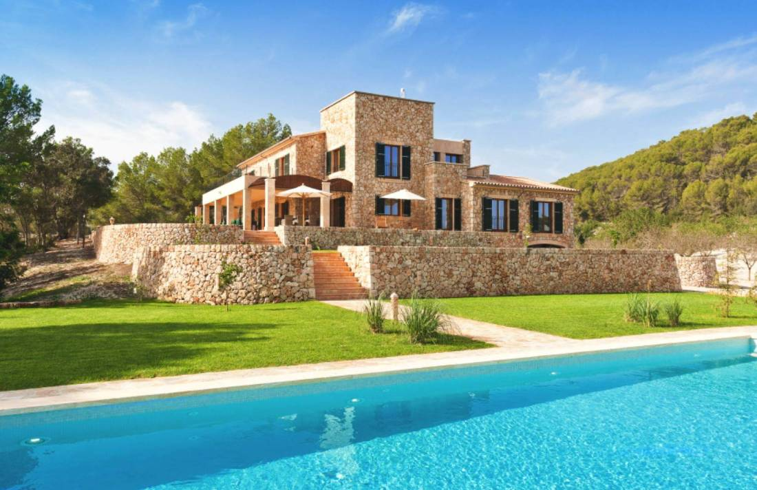 01-324 exclusive luxury Finca Mallorca center Bild 1