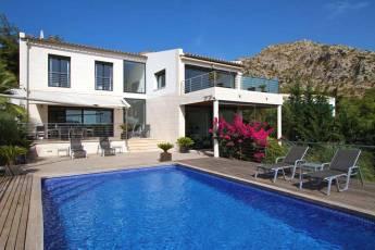 Modernes Chalet Mallorca Norden