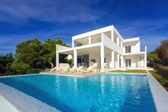 01-156 moderne Meerblick Villa Mallorca Osten