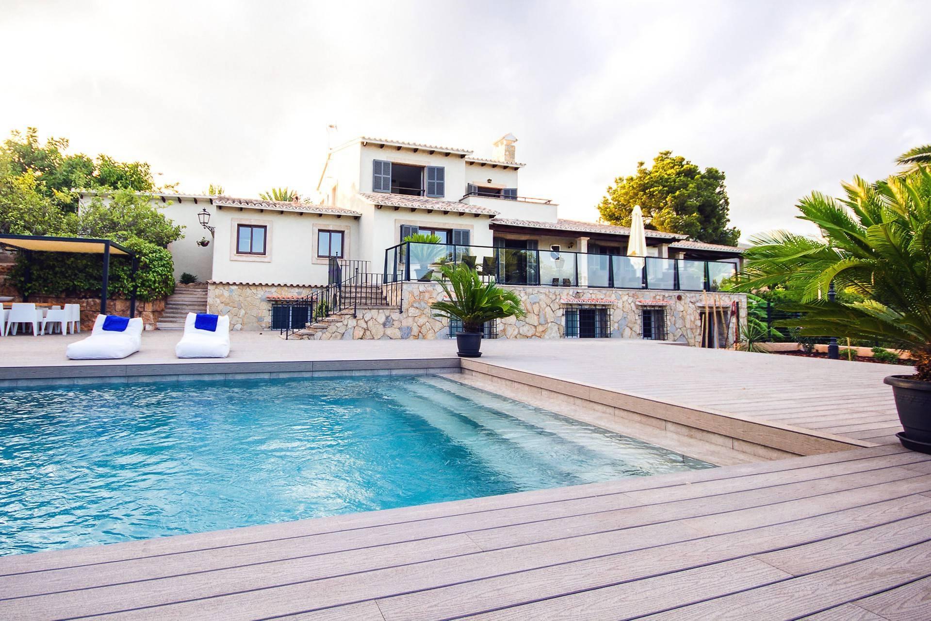 01-266 moderne Villa Mallorca Südwesten Bild 1