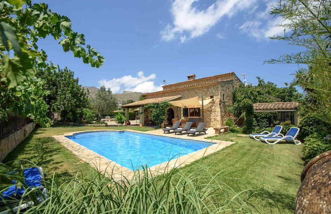 01-164 Romantische Finca Mallorca Norden Bild 1