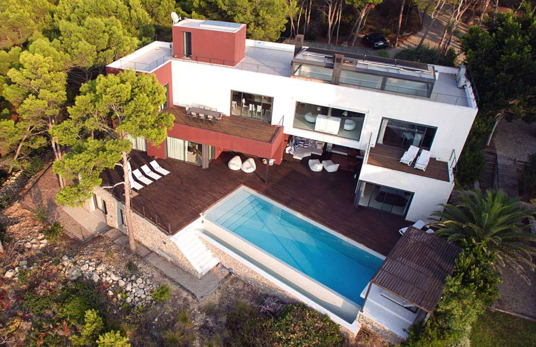 01-332 Sea view Villa Mallorca southwest Bild 1