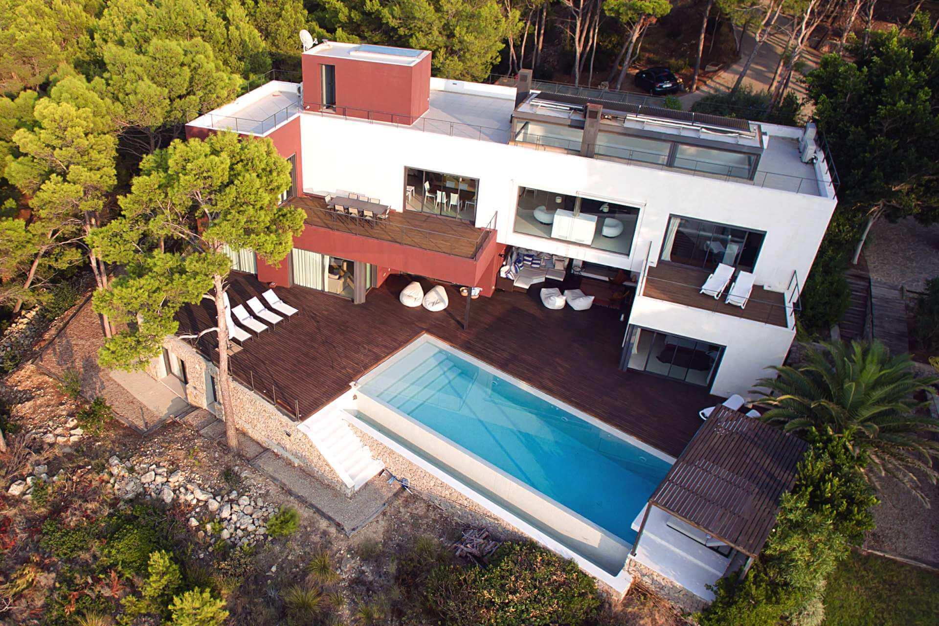 01-332 Meerblick Villa Mallorca Südwesten Bild 1