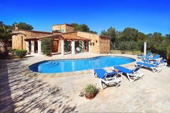 01-174 Gemütliches Ferienhaus Mallorca Süden