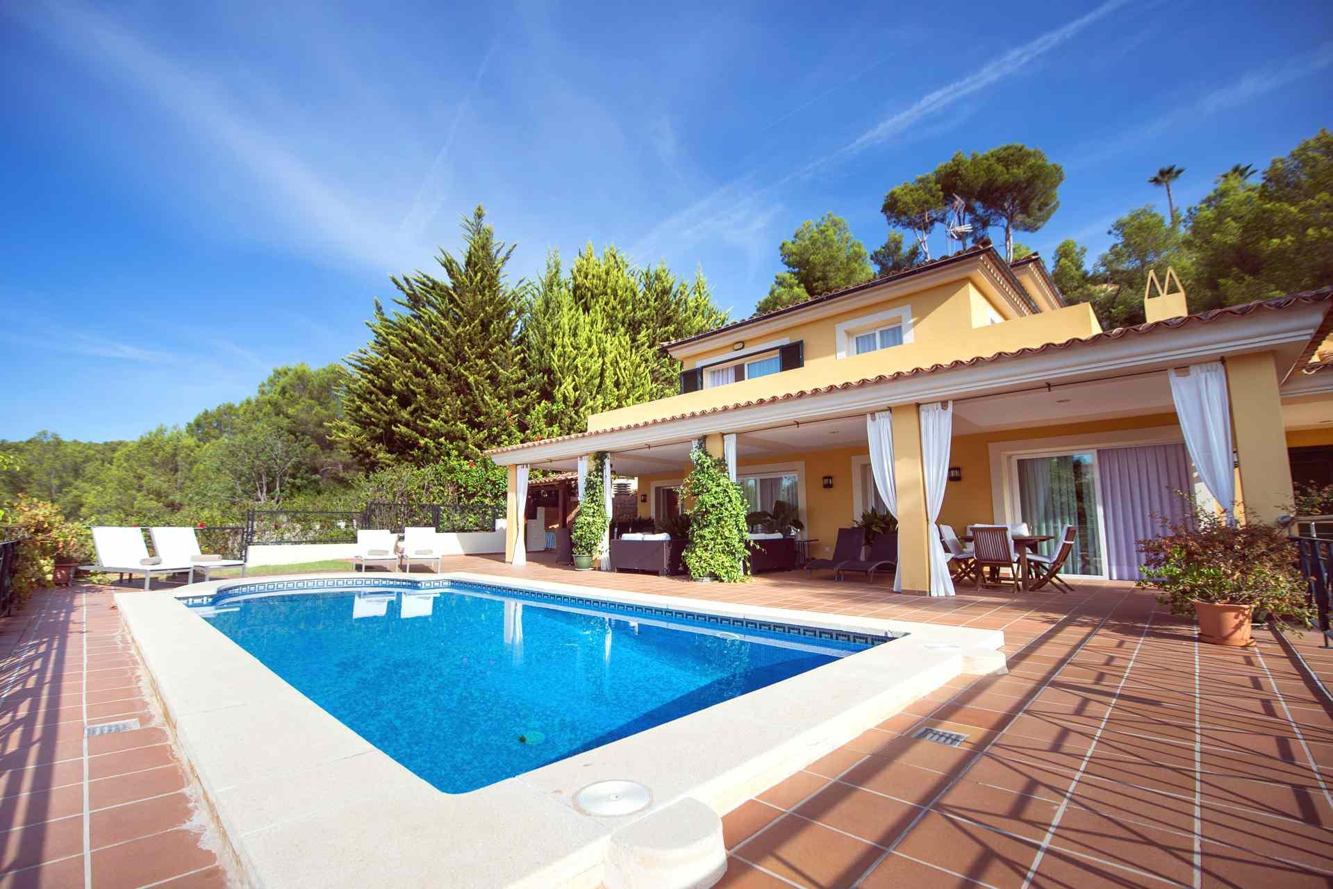 Golfplatz Villa S Dwesten Mallorca In Bendinat Luxus