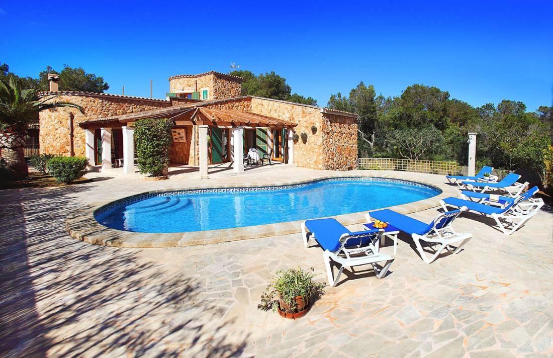 01-174 Gemütliches Ferienhaus Mallorca Süden Bild 1