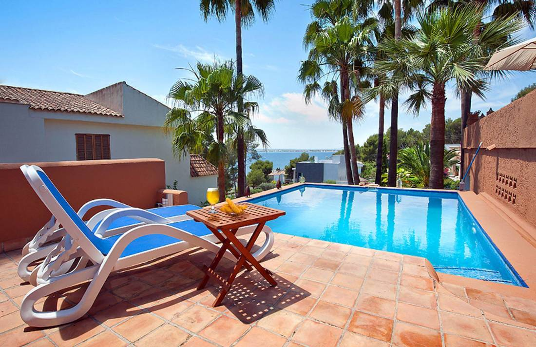 01-228 Mediterrane Villa Mallorca Norden Bild 2