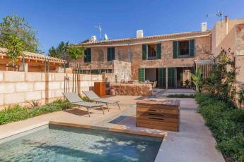 01-253 modern semi-detached House Mallorca