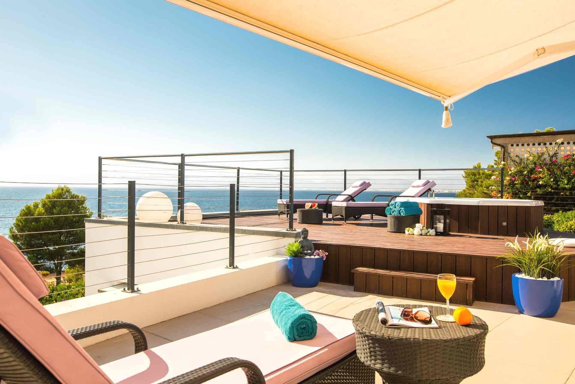 01-95 Ferienhaus Mallorca Süden mit Meerblick Bild 2