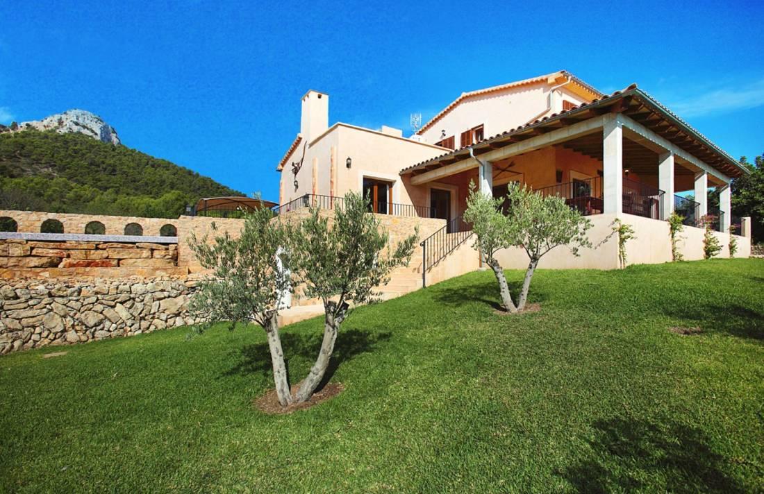 01-159 Ländliches Ferienhaus Mallorca Osten Bild 2
