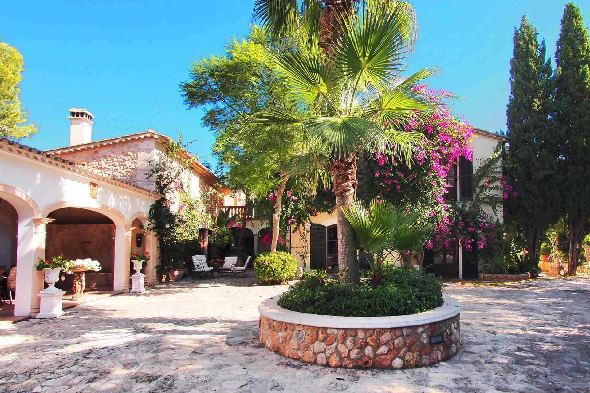 01-87 Luxuriöse Finca Mallorca Zentrum Bild 2