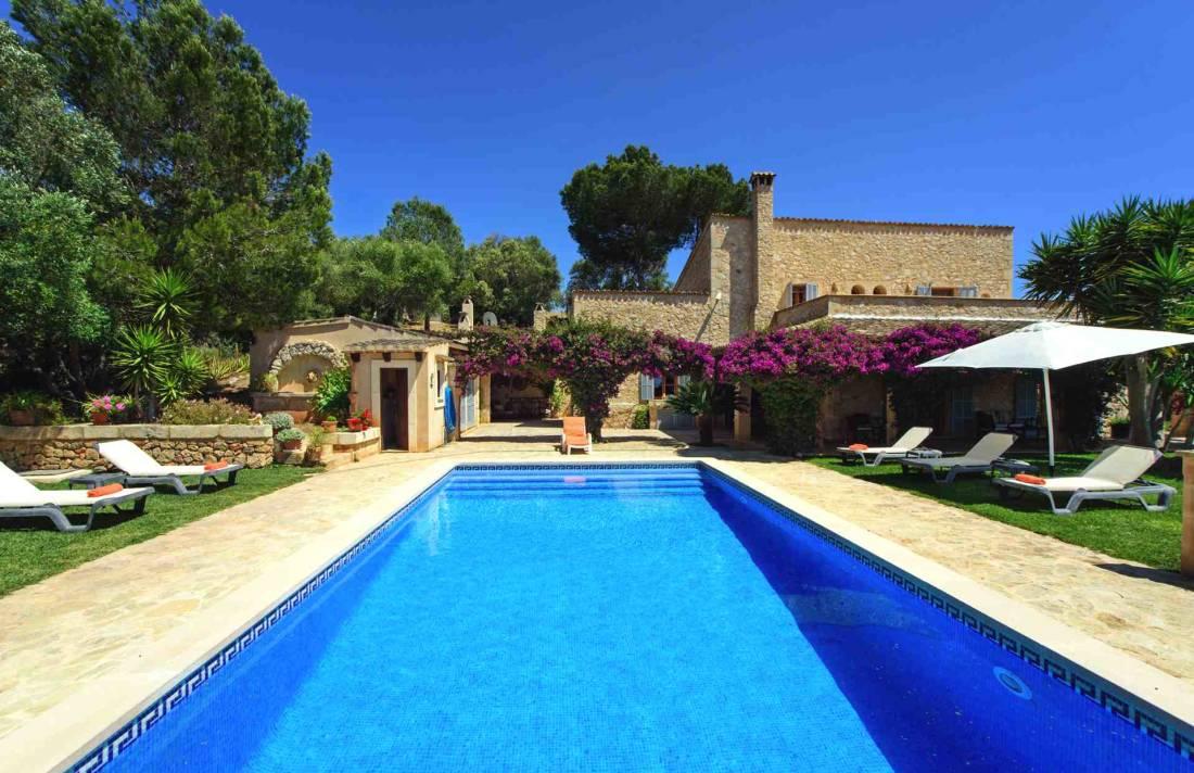 01-147 idyllische Finca Mallorca Osten Bild 2