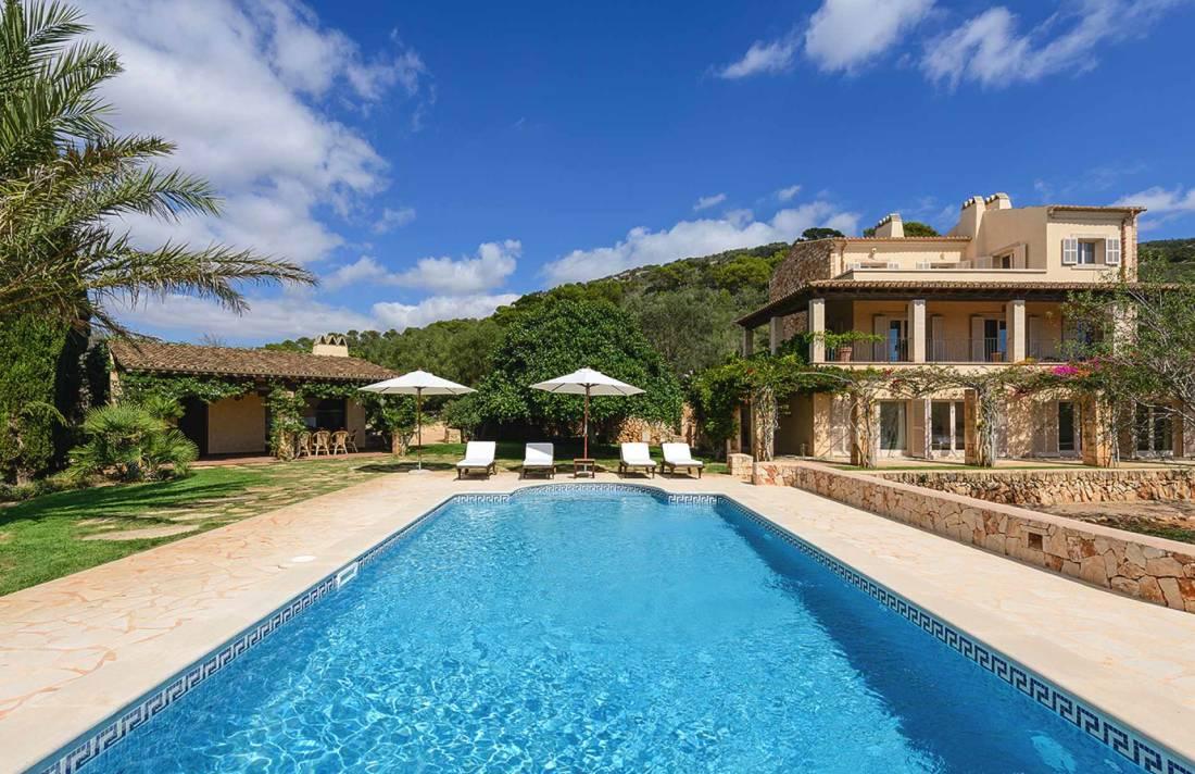 01-300 geschmackvolle Finca Mallorca Süden Bild 2