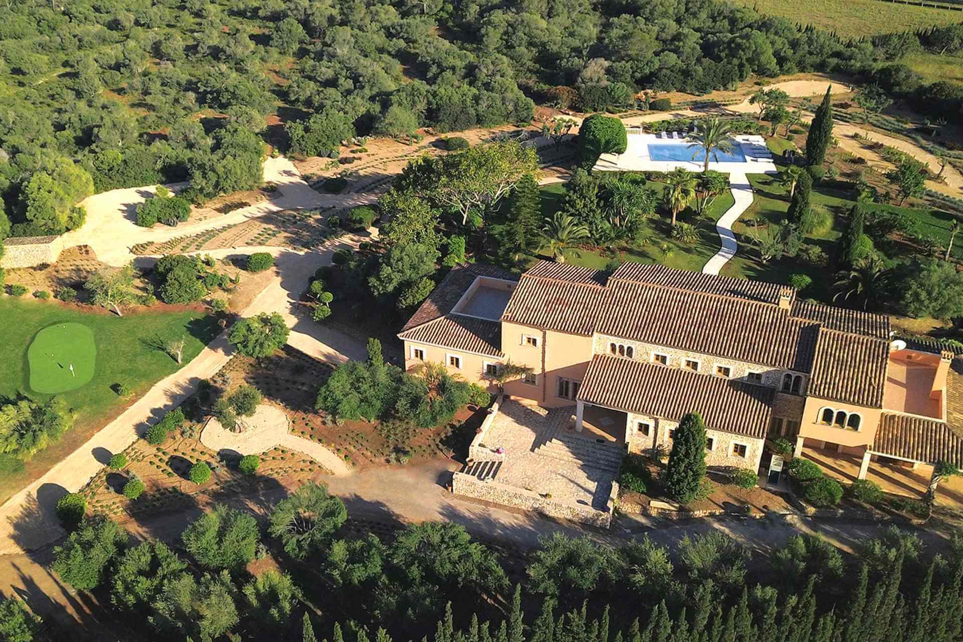 01-319 riesige luxus Finca Mallorca Osten Bild 2