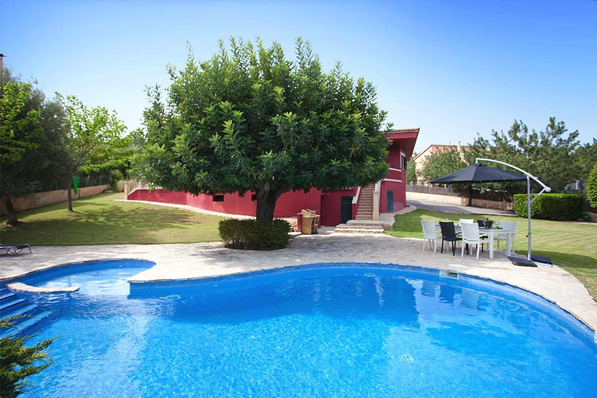 01-309 hübsches Ferienhaus Mallorca Zentrum Bild 2