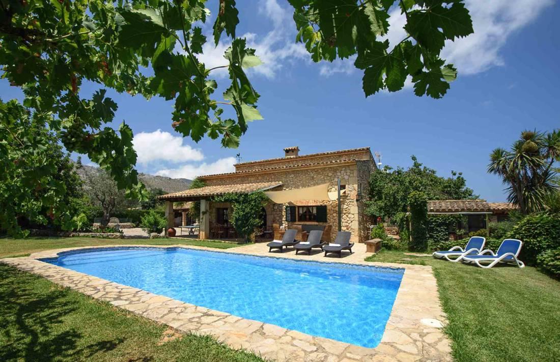 01-164 Romantische Finca Mallorca Norden Bild 2