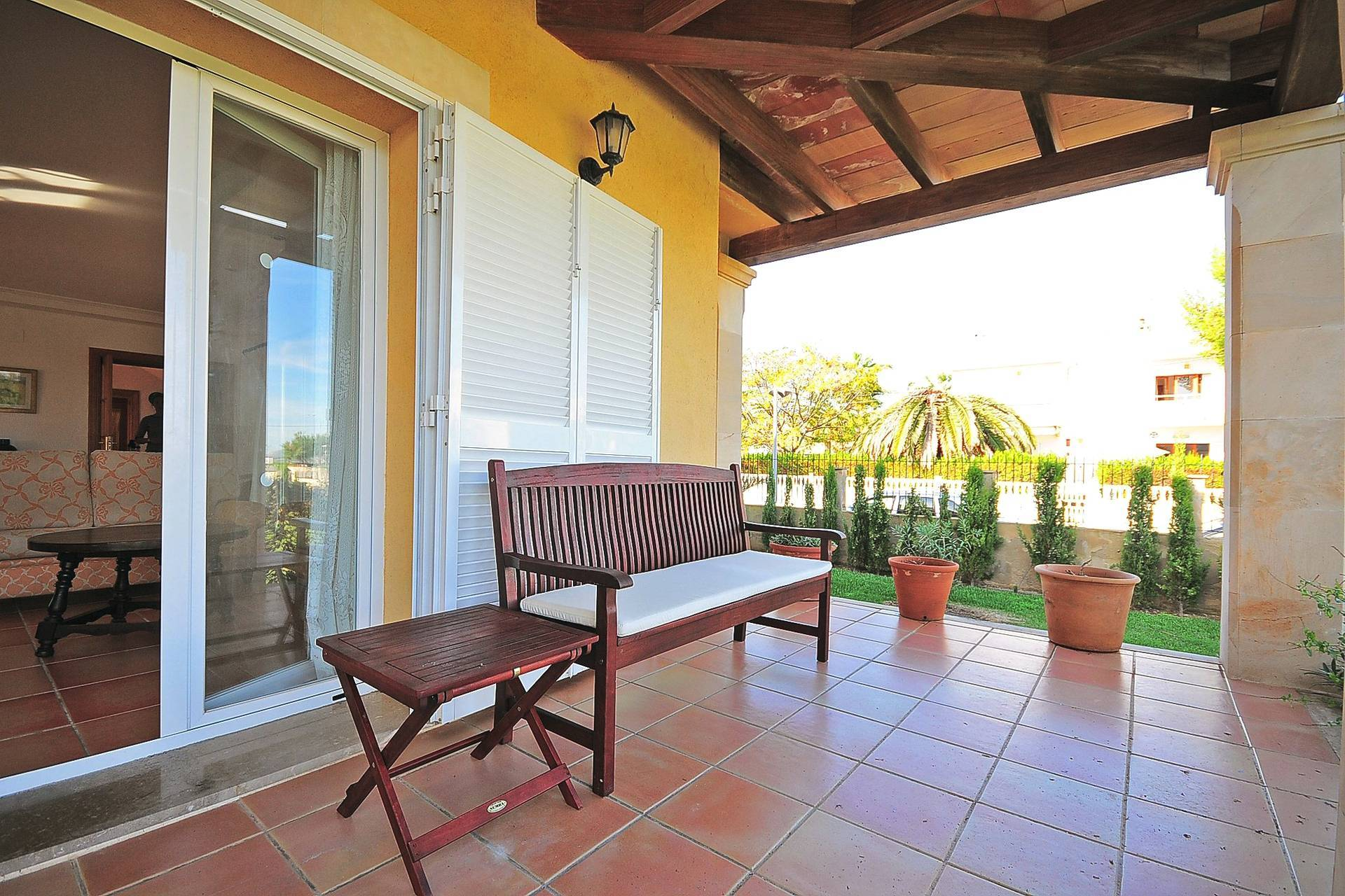 01-233 Ferienhaus am Strand Mallorca Norden Bild 2