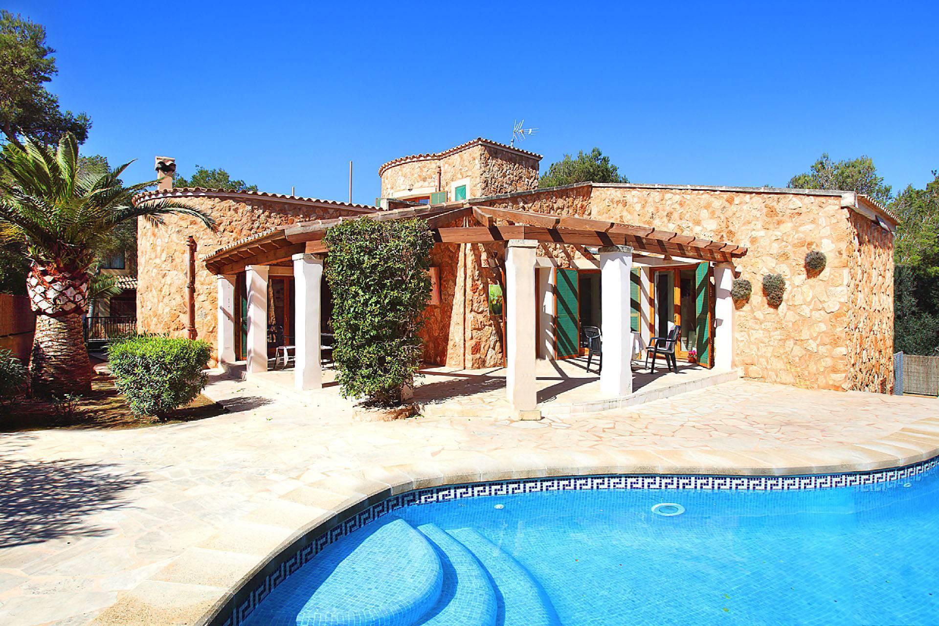 01-174 Gemütliches Ferienhaus Mallorca Süden Bild 2