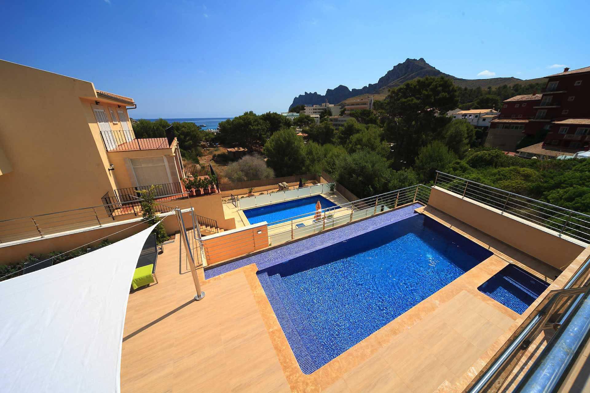 01-35 Villa Mallorca Norden mit Pool Bild 3