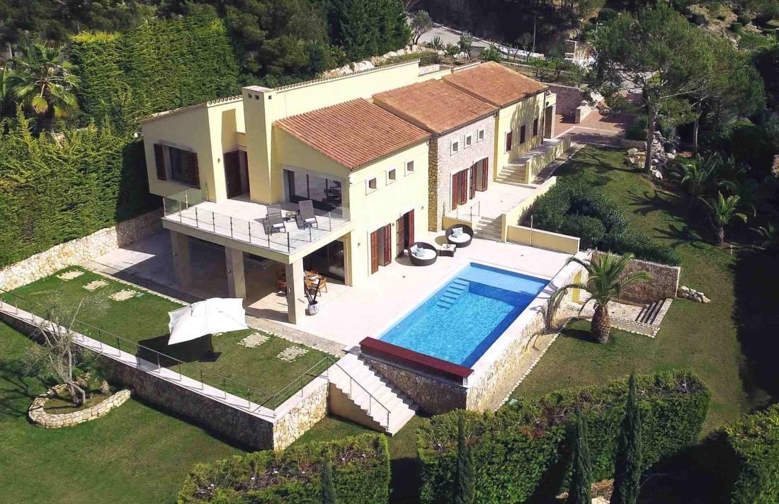 01-327 moderne Golfplatz Villa Mallorca Nordosten Bild 3
