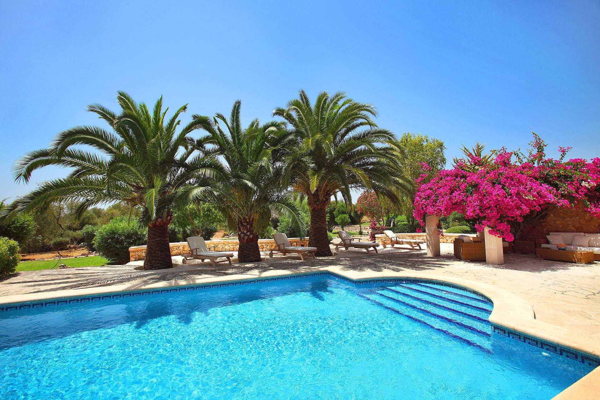 01-131 Restaurierte Finca Mallorca Osten Bild 3