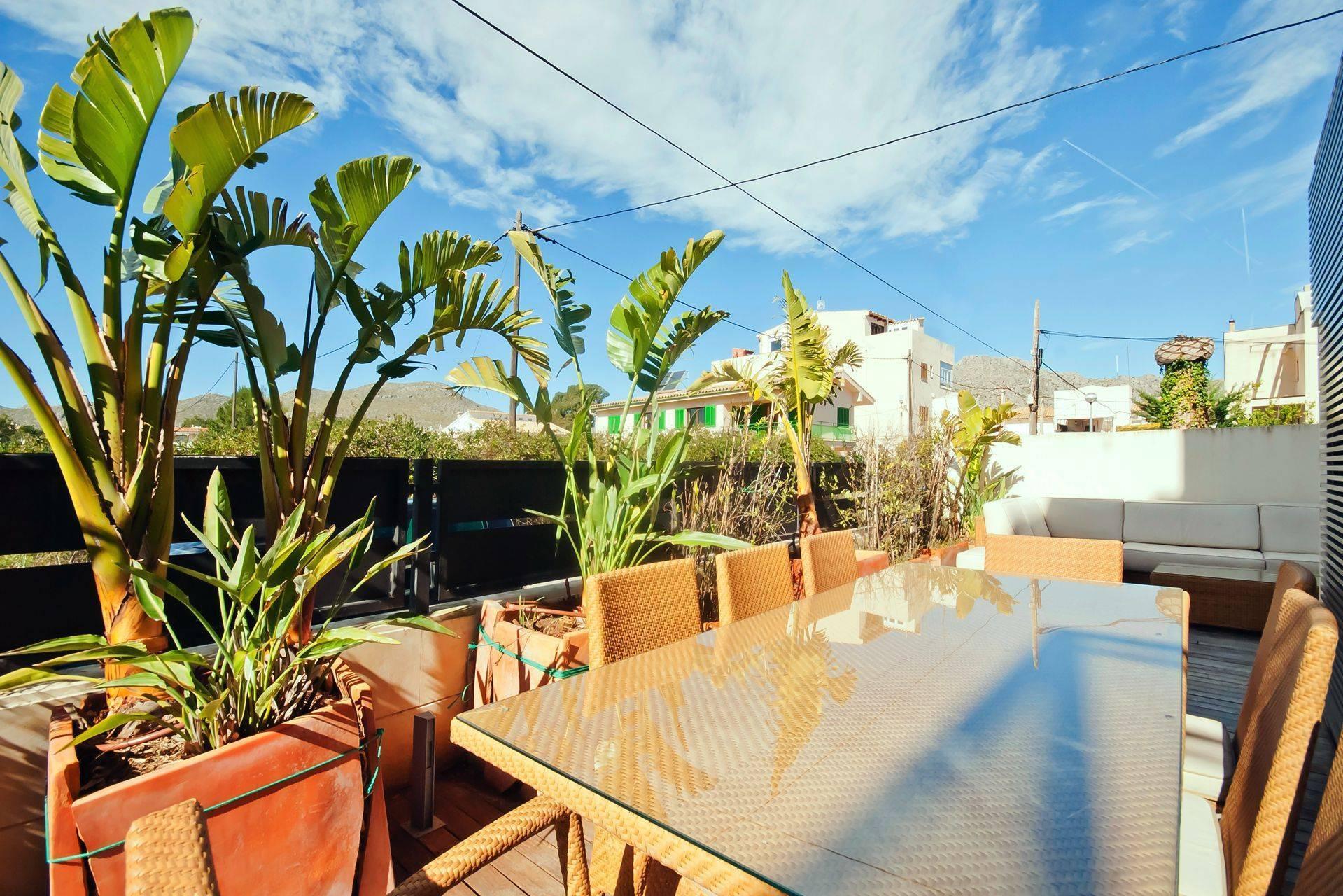01-204 Große Ferienwohnung Mallorca Norden Bild 3