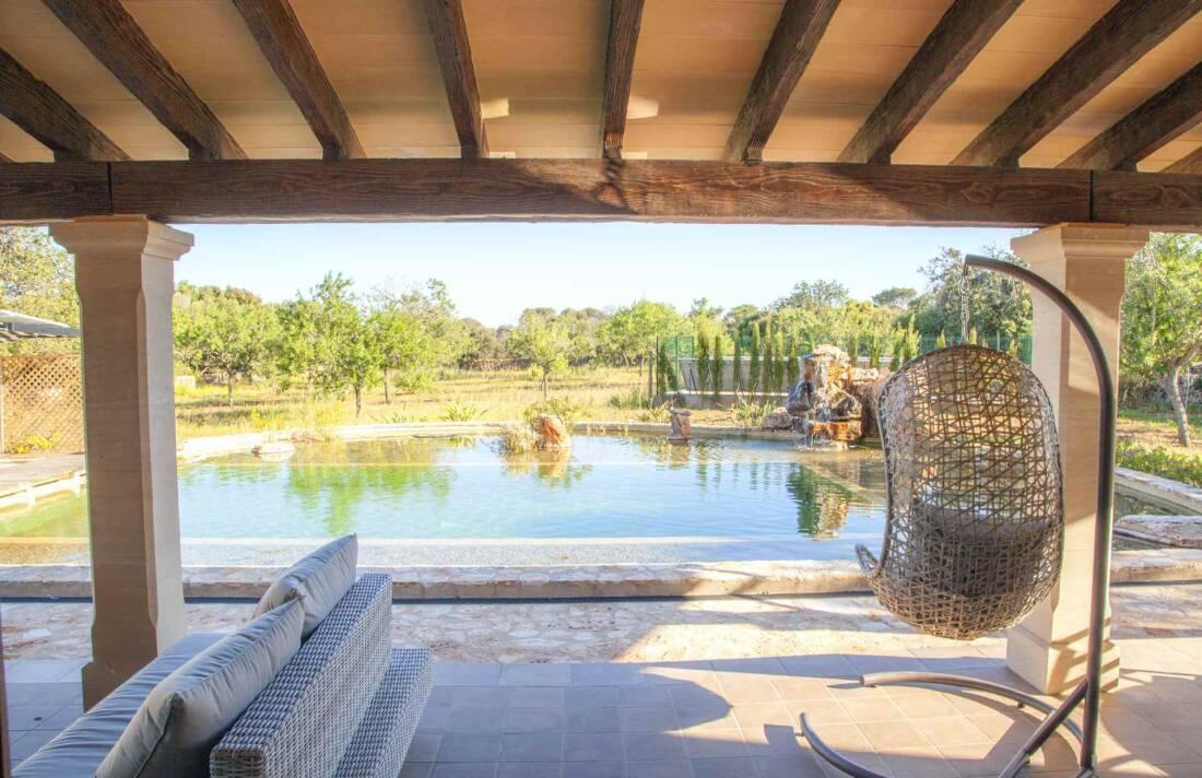 01-342 Finca mit Natur Pool Mallorca Osten Bild 3