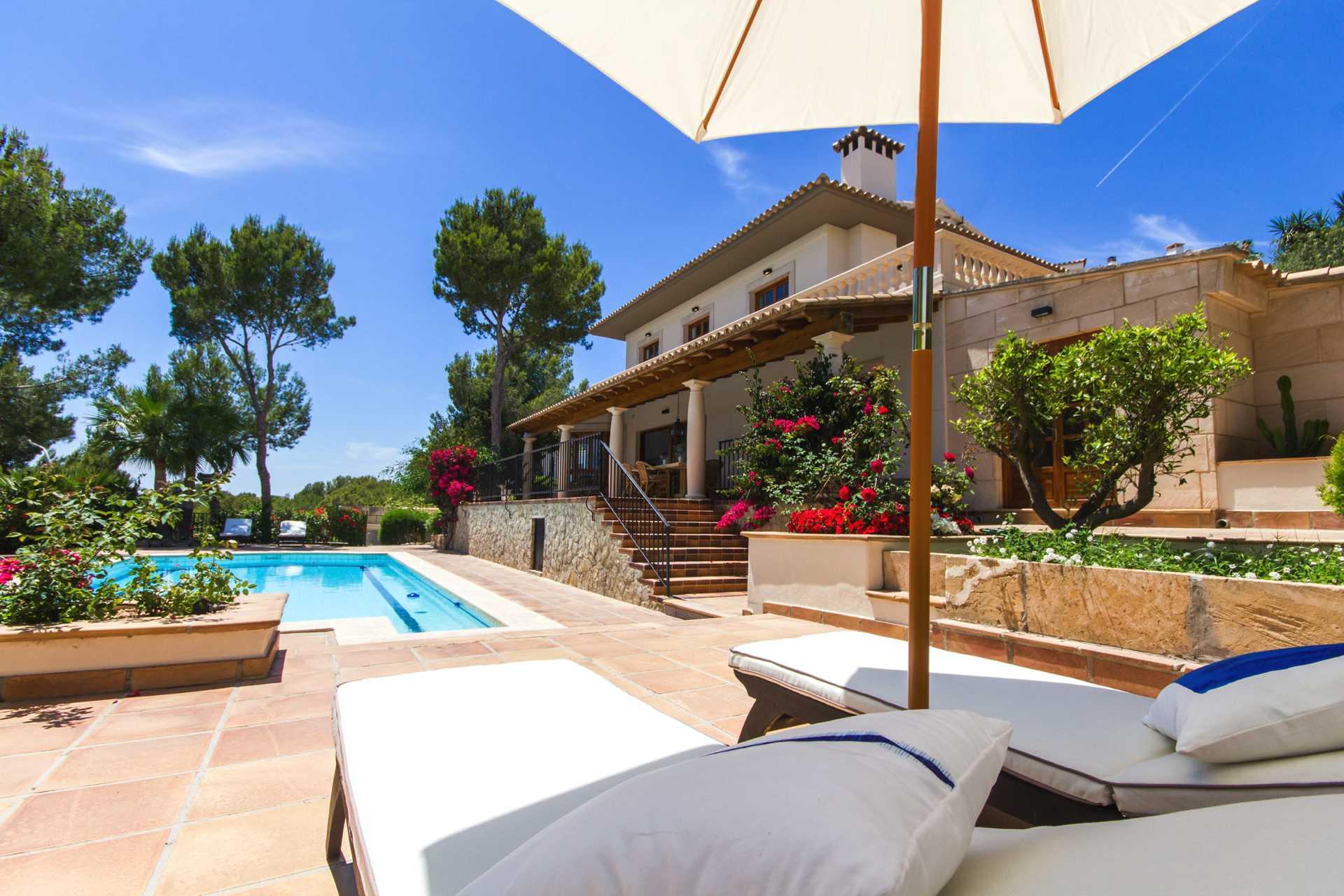 01-305 romantische Villa Südwesten Mallorca Bild 3