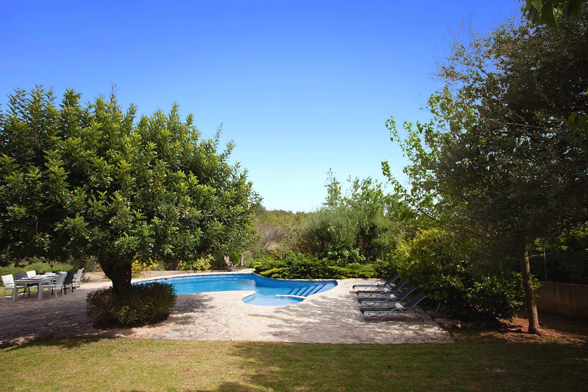 01-309 hübsches Ferienhaus Mallorca Zentrum Bild 3