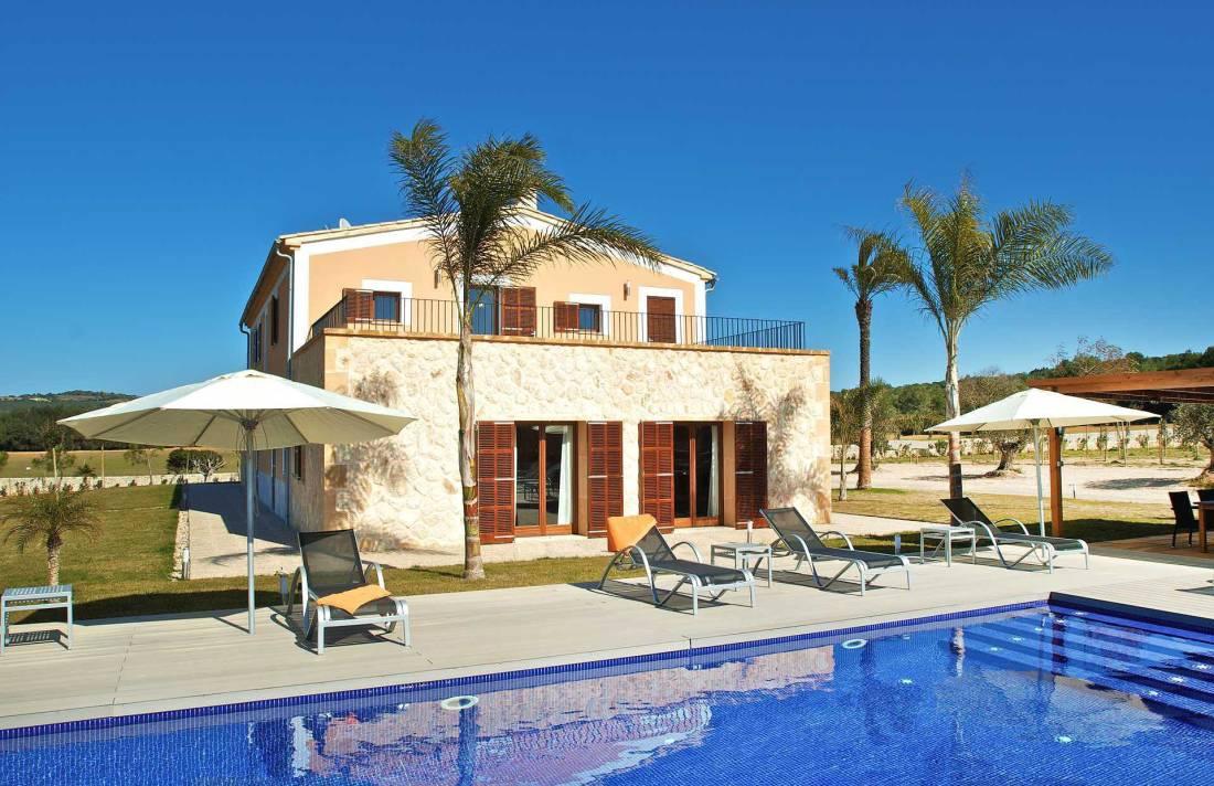 01-90 Neu gebaute Finca Mallorca Osten Bild 3