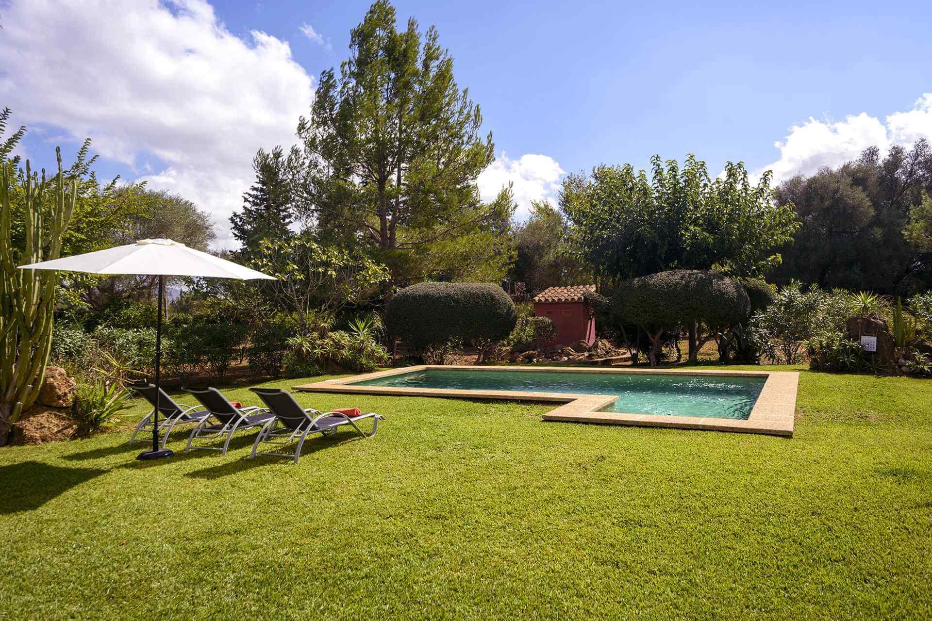 01-161 Finca mit hübschem Garten Mallorca Norden Bild 3