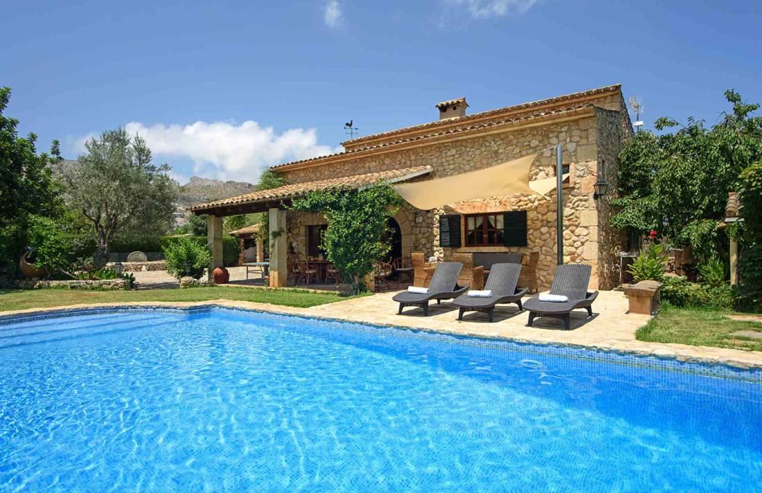 01-164 Romantische Finca Mallorca Norden Bild 3