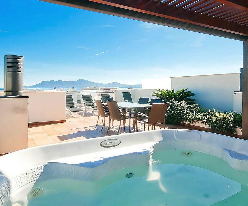 01-203 Luxus Ferienwohnung Mallorca Norden Bild 3