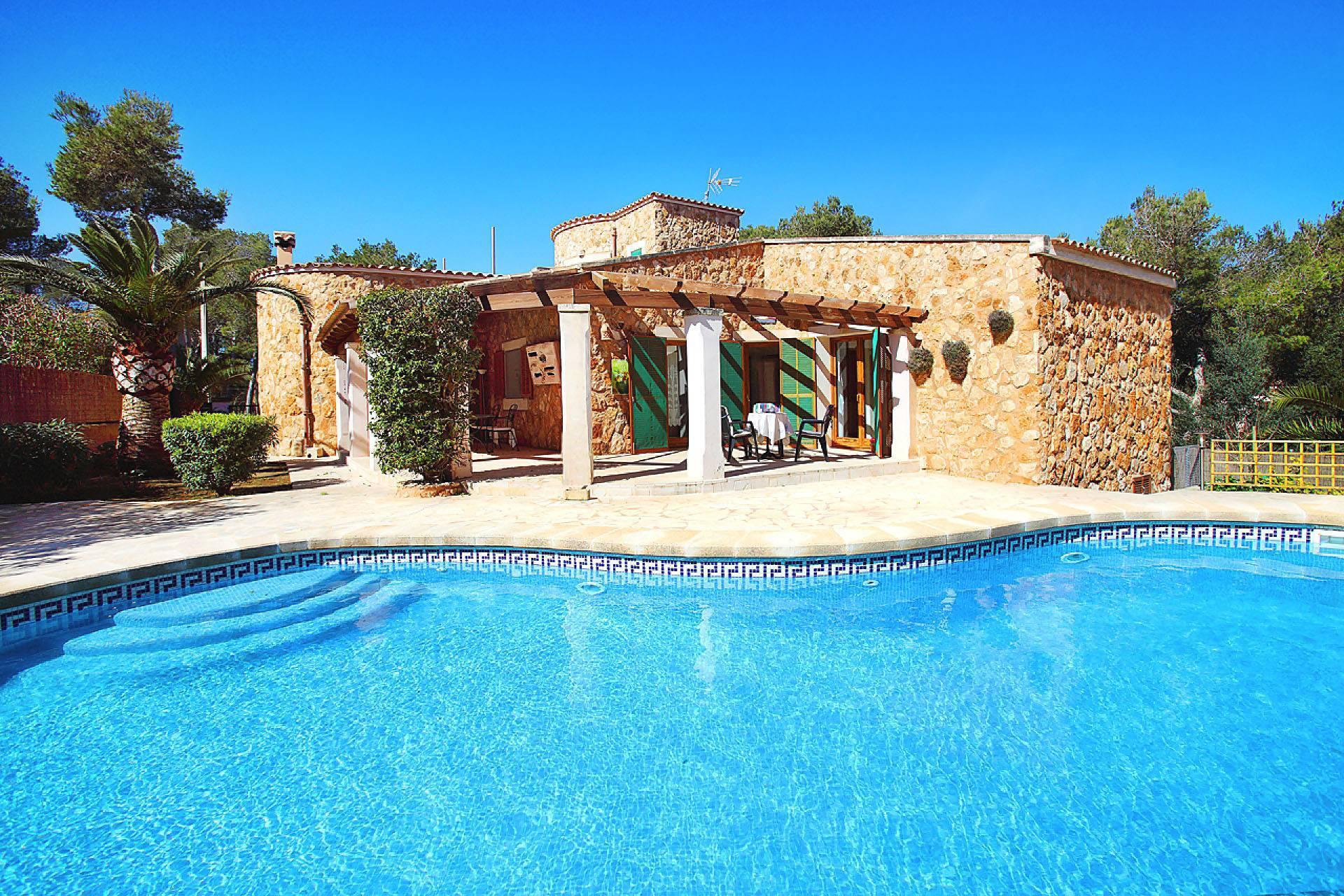 01-174 Gemütliches Ferienhaus Mallorca Süden Bild 3