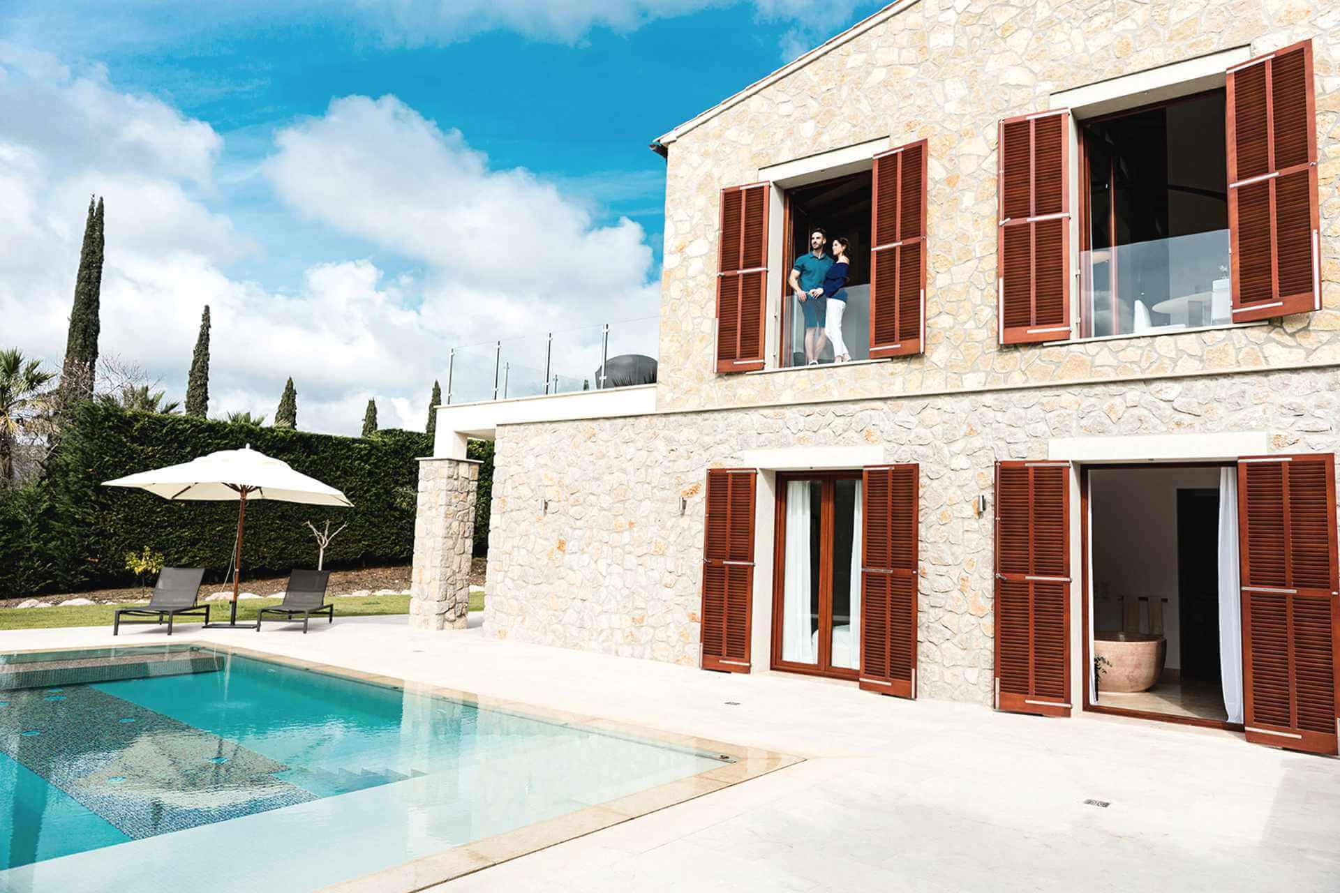01-326 Design Villa Golf Course Northeast Mallorca Bild 3