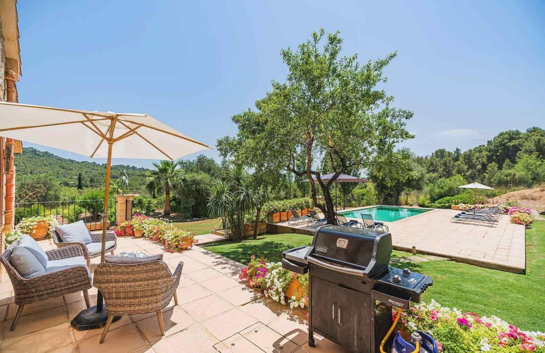 01-348 Luxus Familien Finca Norden Mallorca Bild 4
