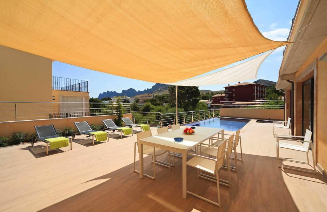 01-35 Villa Mallorca Norden mit Pool Bild 4