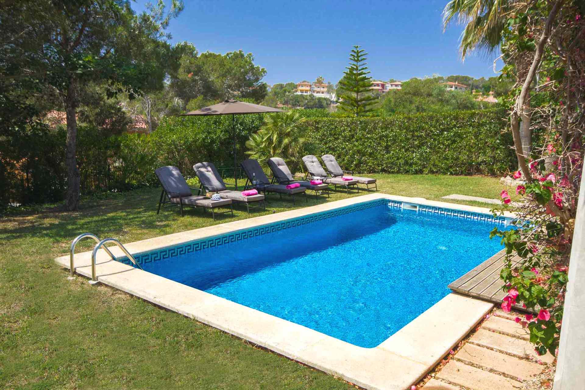 01-302 hübsches Ferienhaus Mallorca Südwesten Bild 4