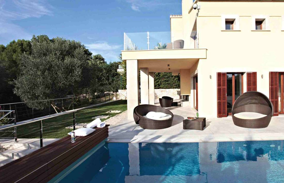 01-327 moderne Golfplatz Villa Mallorca Nordosten Bild 4