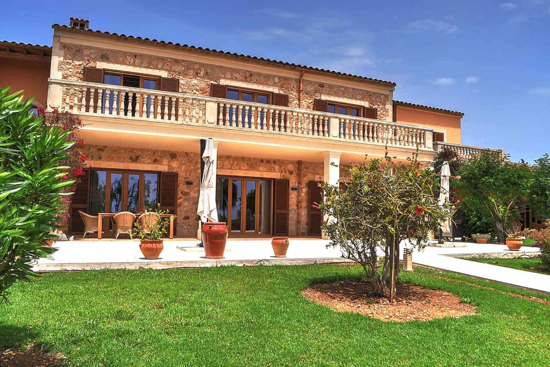 01-319 riesige luxus Finca Mallorca Osten Bild 4
