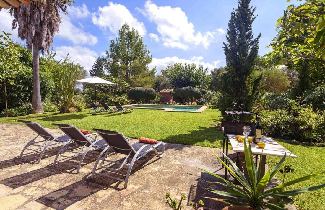 01-161 Finca mit hübschem Garten Mallorca Norden Bild 4