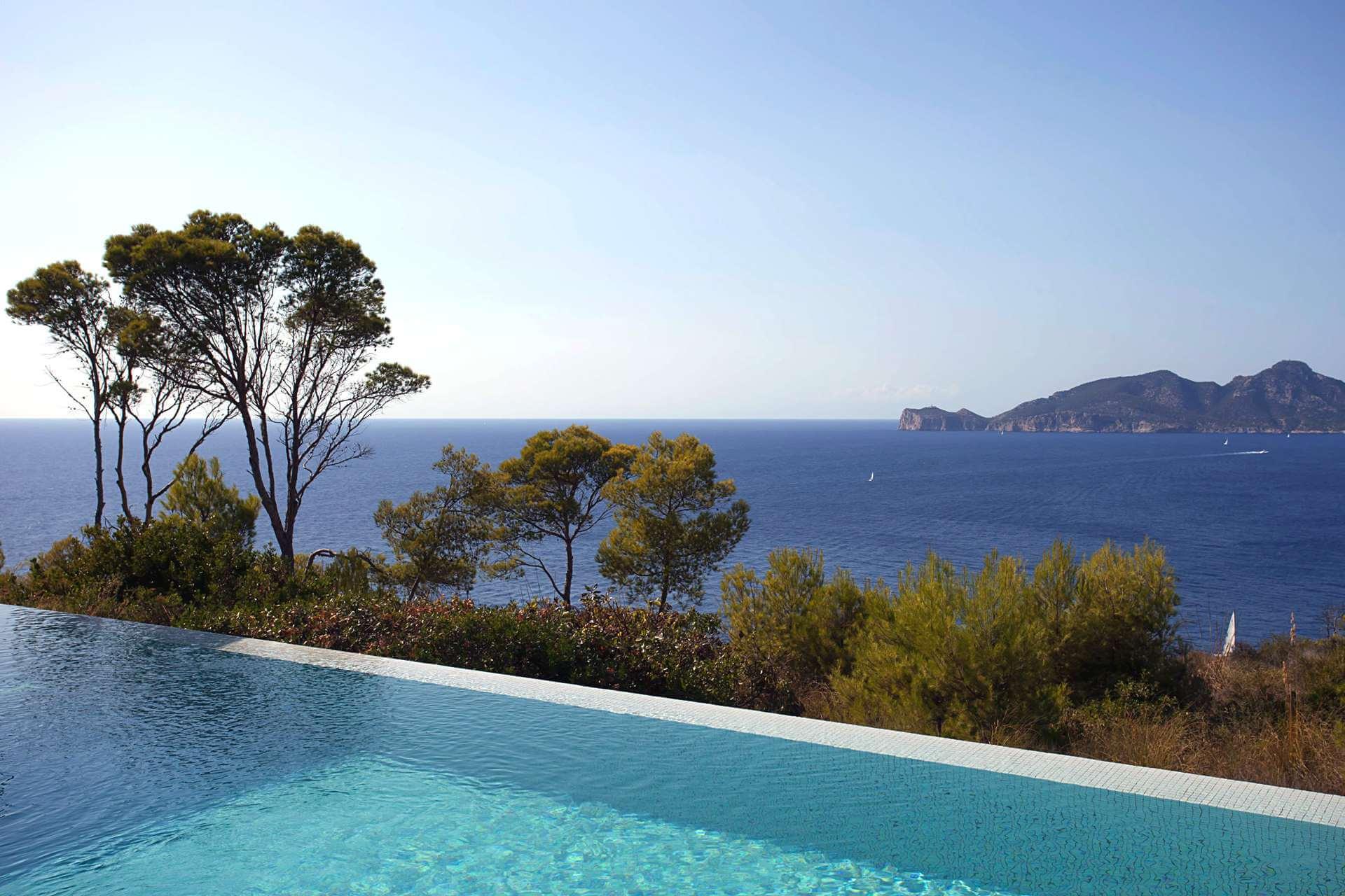 01-332 Sea view Villa Mallorca southwest Bild 4