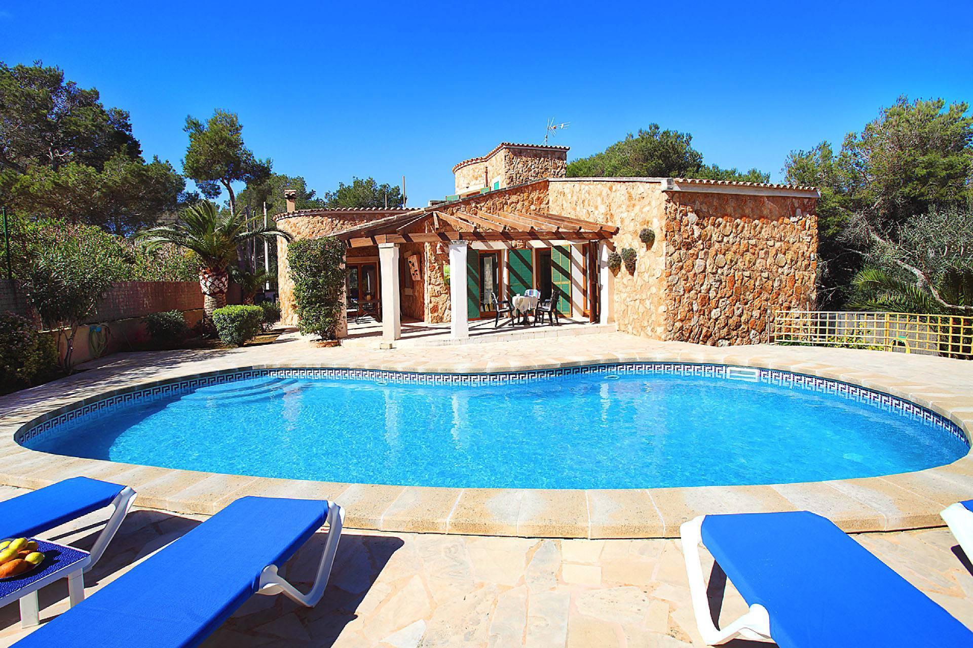 01-174 Gemütliches Ferienhaus Mallorca Süden Bild 4