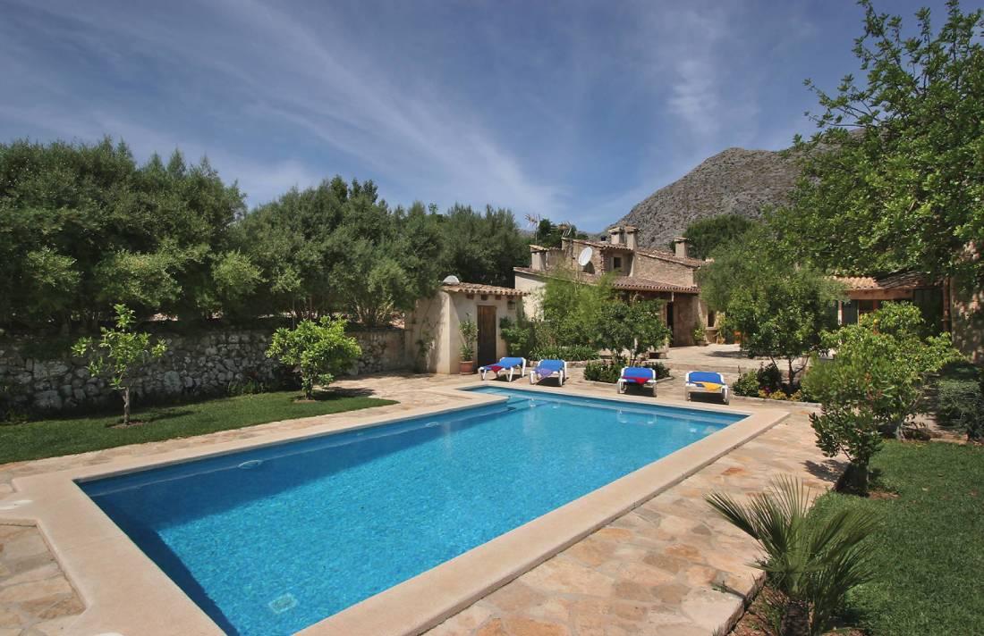 01-145 Restaurierte Finca Mallorca Norden Bild 4