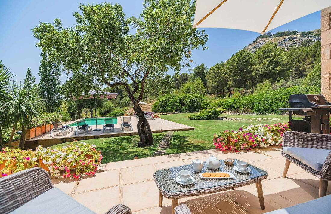 01-348 Luxus Familien Finca Norden Mallorca Bild 5